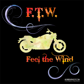 Feel the Wind, Watercolor Design