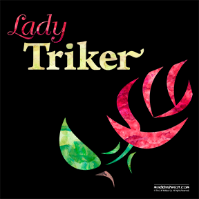 Lady Triker Rose, Watercolor Design