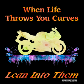 Lean Into the Curves, Watercolor Design